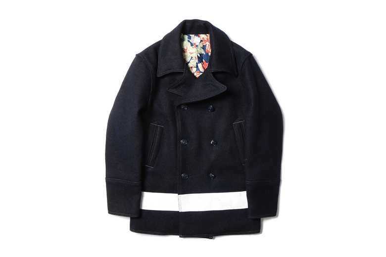"""Deluxe 2014 Fall/Winter """"Griffin"""" Pea Coat"""
