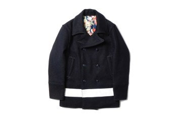 "Deluxe 2014 Fall/Winter ""Griffin"" Pea Coat"