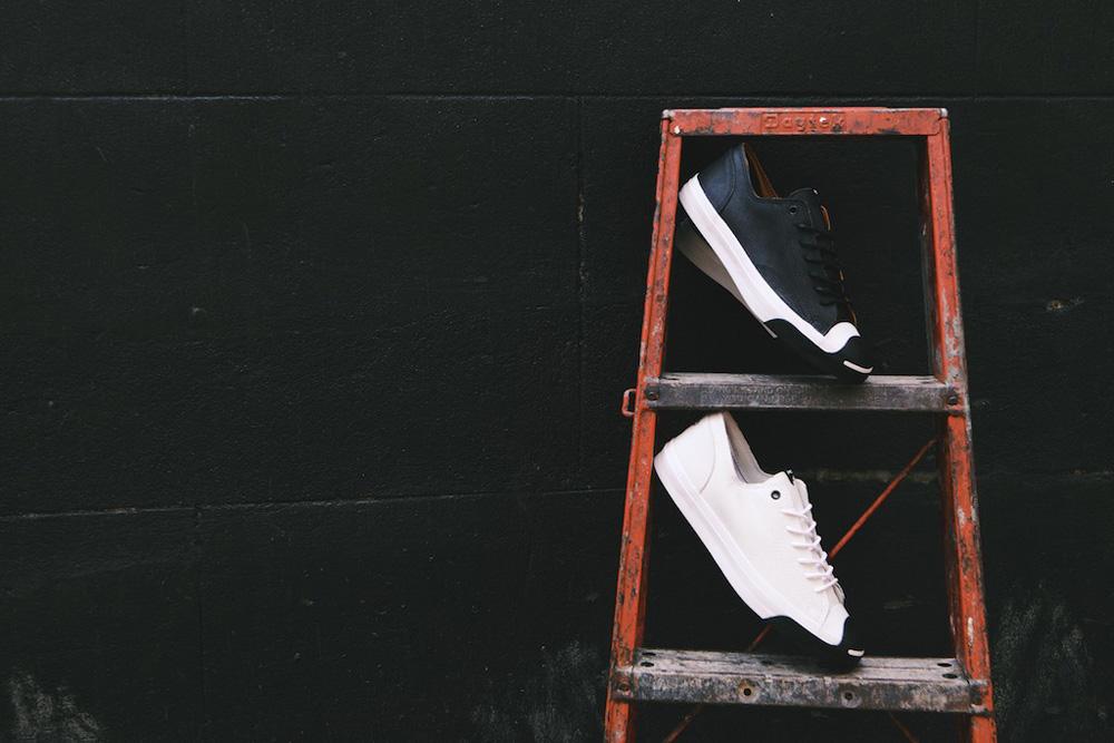 "Denham x Converse 2015 Spring/Summer Jack Purcell ""Scissor Face"""