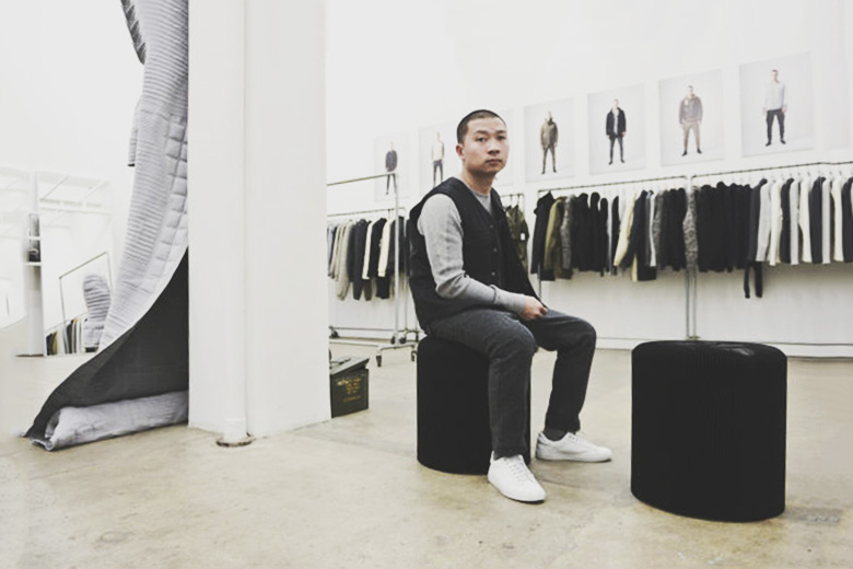 Designer Tung Vo from wings+horns and Reigning Champ Talks About Upcoming Collections in 2015