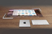 Desktop Touchscreen Visualized in Apple Lightmac Concept