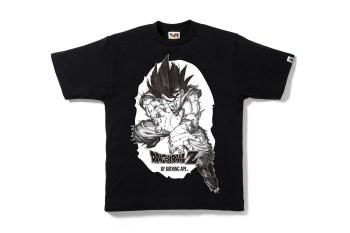 Dragon Ball Z x A Bathing Ape 2015 Collection