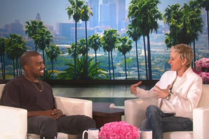 Kanye West Talks adidas, Fatherhood and More on 'The Ellen DeGeneres Show'
