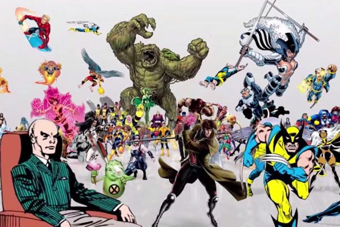 """Every X-Man Ever"" Video Timelines Every Mutant in Marvel Comics' History"