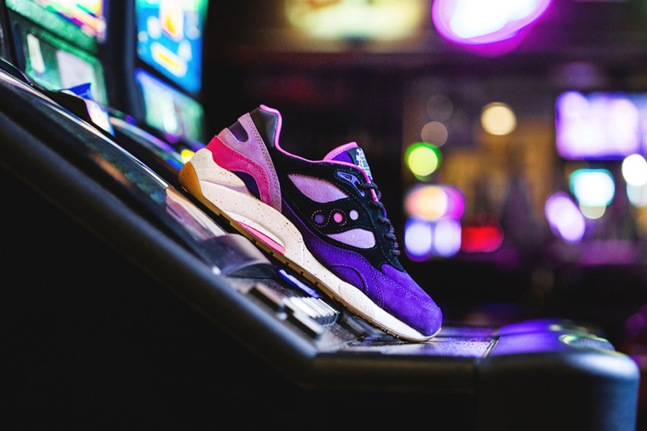 """Feature x Saucony G9 Shadow 6 High Roller Pack """"The Barney"""""""