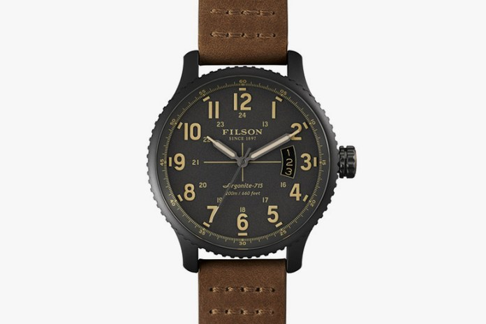 Filson's Shinola-Made Watches Are Coming Soon