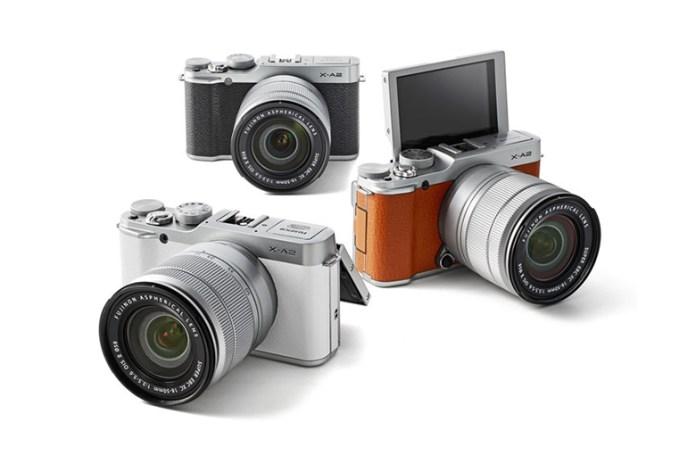 Fujifilm Announces the Selfie-Ready X-A2