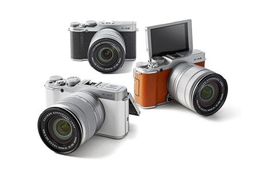 Fujifilm Announces the Selfie-Ready X-A2