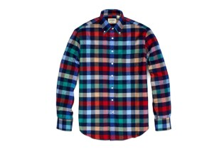 Gitman Bros. x Jack Spade Winter Flannel Shirts Capsule Collection