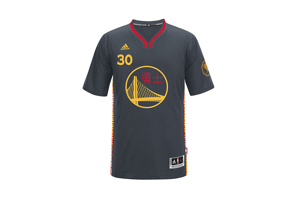 Golden State Warriors and Houston Rockets Unveil Chinese New Year Jerseys