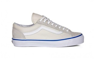 "Gosha Rubchinskiy x Vans Old Skool ""All-White"""
