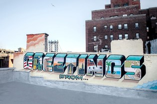 "Graffiti Artist to Cross America Painting ""Greetings From"" Murals"