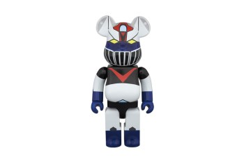 Great Mazinger x Medicom Toy 100% and 400% Bearbrick Pack