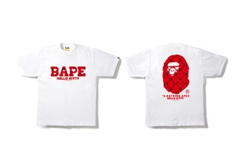 Hello Kitty x A Bathing Ape 2015 Valentine's Day Collection