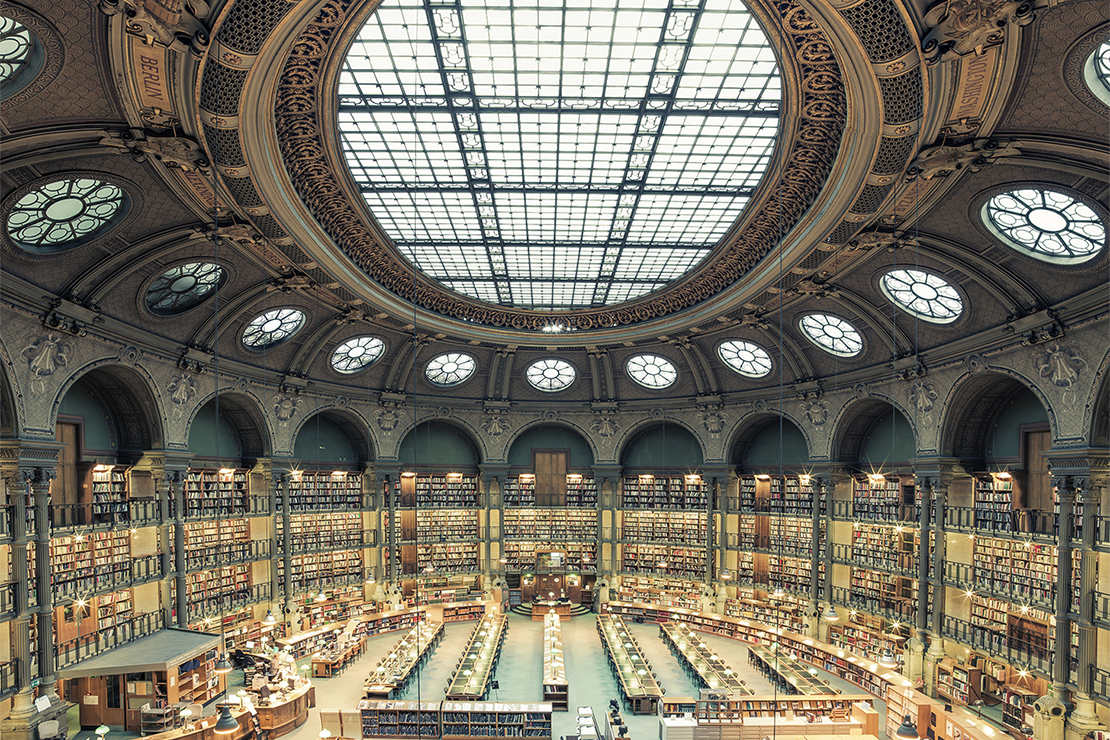 "Frank Bohbot's ""House of Books"" Series Highlights the Libraries of Paris & Rome"