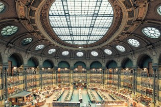 """Frank Bohbot's """"House of Books"""" Series Highlights the Libraries of Paris & Rome"""