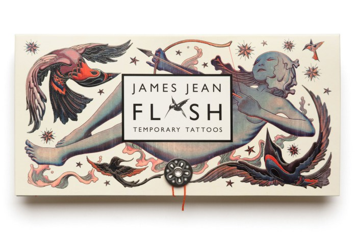 James Jean 'Flash' Print Set & Temporary Tattoos