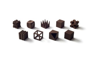 Japanese Design Firm Nendo Has Crafted Art Out of Chocolates