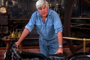 Jay Leno Checks Out a 90-year-old Brough Superior SS100