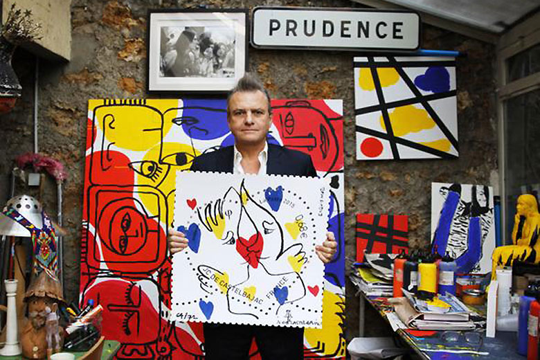 Jean charles de castelbajac creates stamps for the french - Jean charles de castelbajac ...