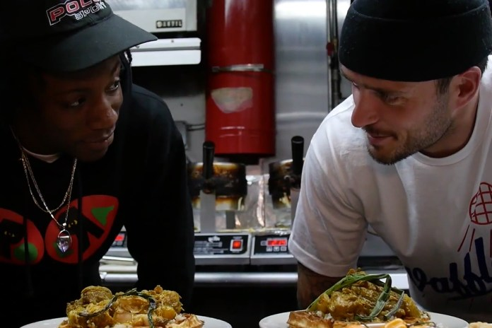 Joey Bada$$ Makes Curry Chicken and Waffles with John Seymour of Sweet Chick