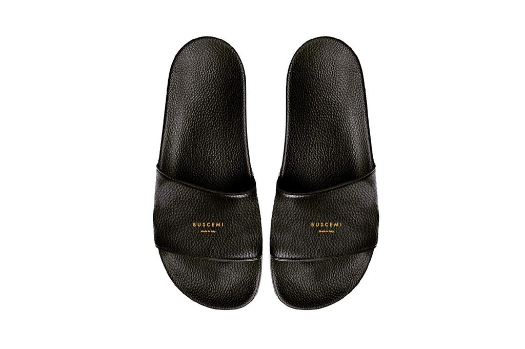 Jon Buscemi Previews BUSCEMI Leather Slippers