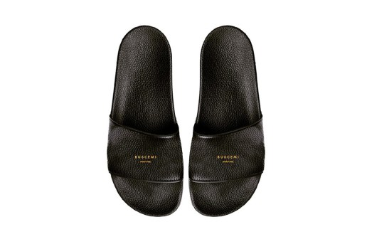 Jon Buscemi Previews BUSCEMI Leather Slippers