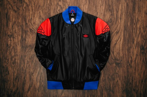 Just Don x Air Jordan II Pinnacle Bomber Jacket in Black