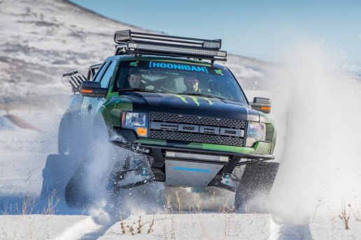 Ken Block Gives a Tour of his Ford F-150 RaptorTRAX