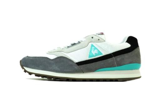 Kicks Lab x Le Coq Sportif Zenith Black/Grey/Turquoise