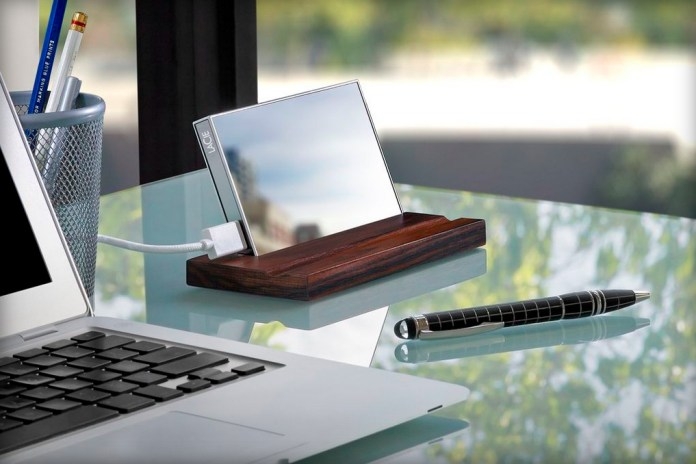 LaCie Introduce a Gorilla Glass-Based 1TB Harddrive by Pauline Deltour
