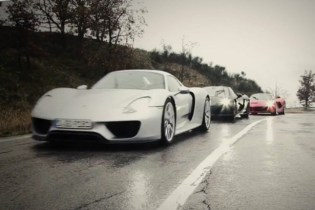 LaFerrari vs. Porsche 918 vs. McLaren P1 for Top Gear