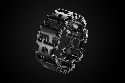 The Leatherman Tread Bracelet is Equipped with 25 Tools