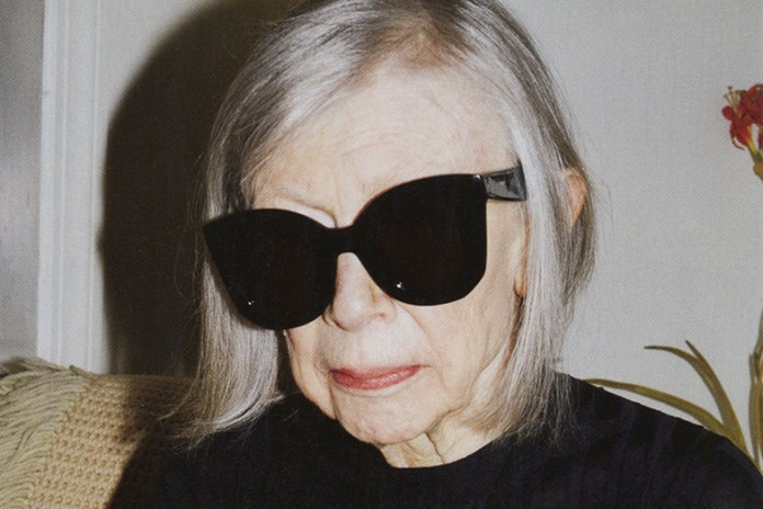 Legendary Writer Joan Didion is the New Face of Céline