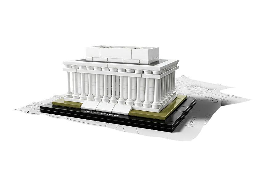 LEGO Architecture Lincoln Memorial