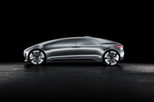Mercedes-Benz F 015 Luxury in Motion: Futuristic Self-Driving Car