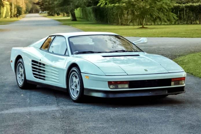 'Miami Vice' Ferrari Testarossa Goes for $1.75 Million USD on eBay
