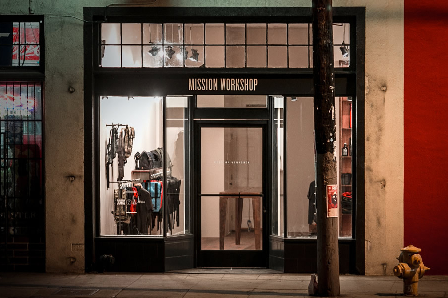 Mission Workshop Opens its New Los Angeles Storefront