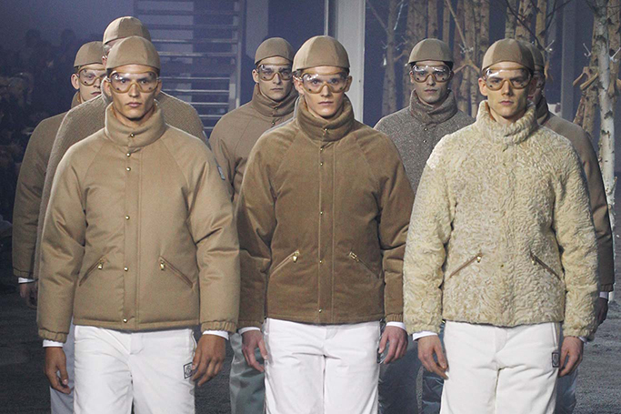 Moncler Gamme Bleu 2015 Fall/Winter Collection
