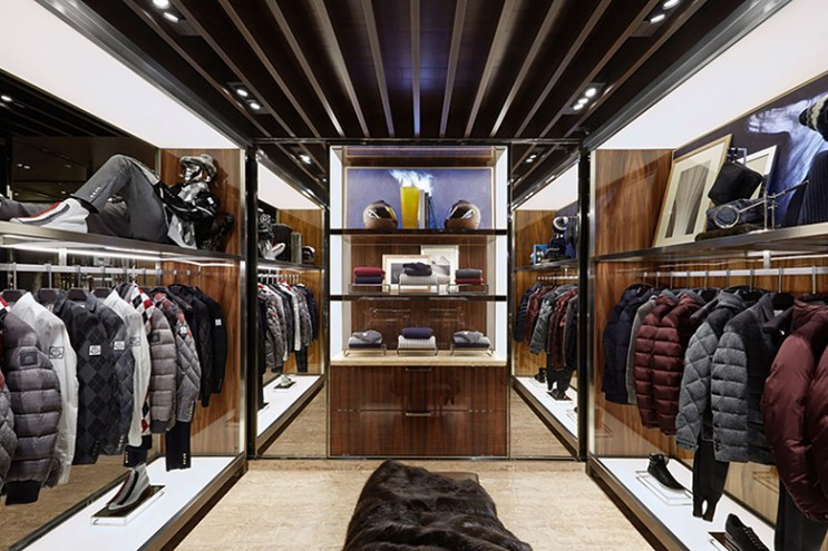 Moncler Opens Up a New Boutique Dedicated Entirely for Men