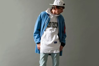 monkey time x Alpha Industries 2015 Spring/Summer Long MA-1