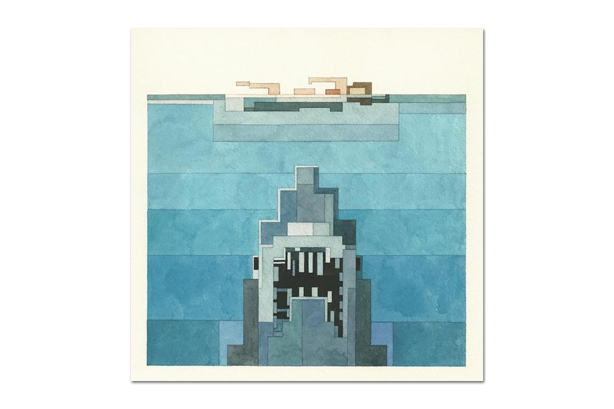 More Pixelated Paintings by Adam Lister