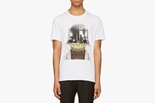 Neil Barrett White Darth Yoda T-Shirt
