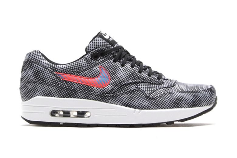 Nike Air Max 1 FB QS Black/Bright Crimson-White-Blue Lagoon
