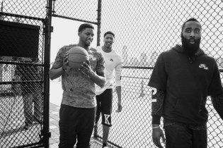Nike Air 2015 Spring/Summer Lookbook featuring Anthony Davis, James Harden and Rudy Gay