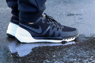"Nike Free Trainer 3.0 V3 ""Black/Black-White"""