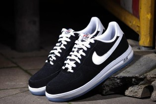 "Nike Lunar Force 1 ""Black Suede"""