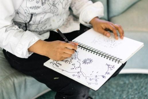 Pen & Paper: Shantell Martin