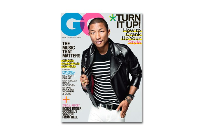 Pharrell Williams Covers The February 2015 Issue of GQ