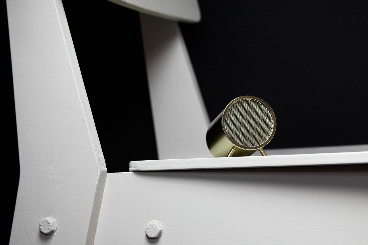 "Piet Hein Eek x LEFF Amsterdam Wireless ""Tube Audio"" Speaker"